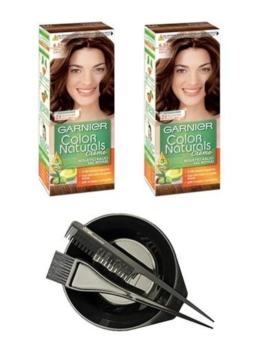 Garnier Garnier 2 Adet Color Naturals Saç Boyası 6.34 Saç Boyama Seti Renksiz